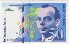 France P 157 b - 50 Francs 1993 - XF+