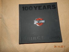 100 Years of Harley Davidson Willie G. Motorcycles 2002 Book