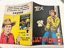TEX n. 70 prima edizione - L. 200 scritta CONTINUA [DOT]