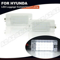 2X OE-Fit White 18-SMD LED Trunk Cargo Area or Glove Box Light For Hyundai Kia