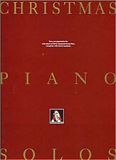 Christmas Piano Solos. Sheet Music for Piano & Guitar(with Chord Symbols), New,