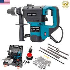 1100w Electric Hammer Drill 1 12 Sds Concrete Demolition Punch Chisel Bitcase