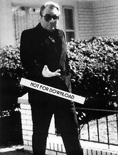 JOHN GOTTI PHOTO TAKEN OUTSIDE HIS HOME SURVEILLANCE 8x10 GLOSSY REPRINT MAFIA