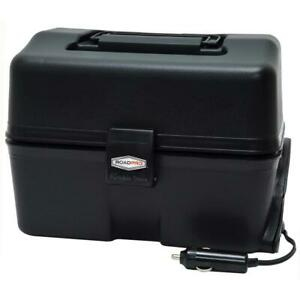 RoadPro Portable Stove 8 in. x 3-3/4 in. x 2-1/2 in 12V Aluminum Disposable Pan