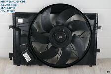 W 203 C 320 C 270 CDI Elektrolüfter Kühlerlüfter Ventilator OM 642 A 2035000193