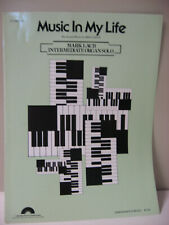 Mac Davis Music in My Life Intermediate Organ Solo Sheet Music Mark Laub