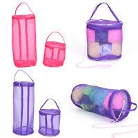 New Mesh Bag Lightweight Portable Yarn Crochet Thread Storage Organizer Tote Cw