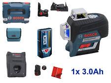 Bosch Professional  Linienlaser GLL 3-80 C + Laser-Empfänger LR 7 + 1x3.0Ah Akku