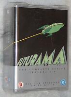Futurama serie completa temporada 1,2,3,4,5,6,7,8 - DVD Box Set -