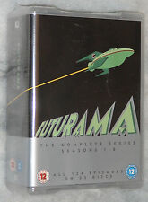 Futurama Complete Series Season 1,2,3,4,5,6,7,8 - DVD Box Set - NEW & SEALED