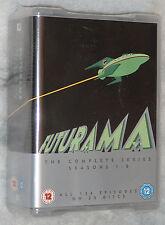 Futurama Complete Series Season 1,2,3,4,5,6,7,8 - DVD Box Set - NEW & SEALED