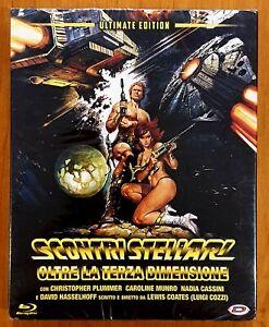 Starcrash (1978) Blu Ray Import Ltd Edition Slipcover Poster Region B New/Sealed