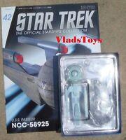 Eaglemoss Diecast Star Trek Olympic-class Starship USS Pasteur NCC-58925 #42 Mag
