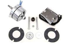 Chrome 12 Volt Alternator Generator Conversion Kit