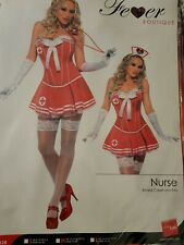 Ladies Deluxe Sexy Corset Tutu Naughty Nurse Hen Do Fancy Dress Costume Outfit