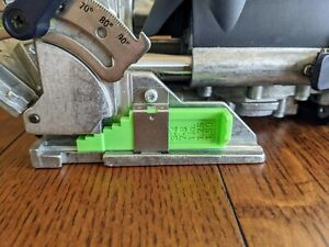 Festool Domino Imperial Thickness Gauge for DF 500 - Upgrade to USA Measurements