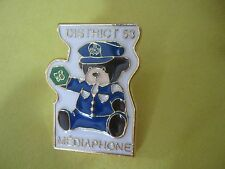 Teddy Bear in Montreal Police Uniform New Pin