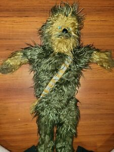 """Star Wars LICENSED Chewbacca 24"""" Large Plush Doll Bedding Cuddle Pillow Buddy"""