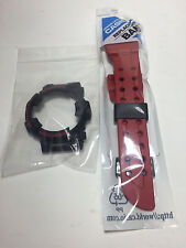 NEW CASIO G SHOCK GWF-T1030A BLACK RED FROGMAN BAND/BEZEL FIT FOR GWF/GF-1000
