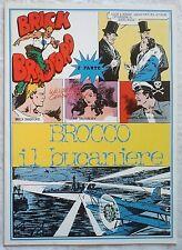 BRICK BRADFORD - BROCCO IL BUCANIERE 2 collana gertie daily 12 comic art 1975