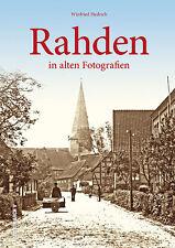 Rahden in alten Fotografien NRW Stadt Geschichte Bildband Bilder Fotos Buch Book