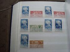 COMUNIDADES FRANCESAS - 10 sellos aereas n stamp