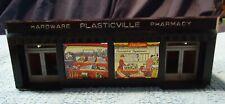 Plasticville O Scale Hardware & Pharmacy Complete No Box.