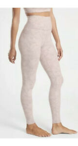 ATHLETA Elation Textured Tight Frosted Floral Pink MT Tall