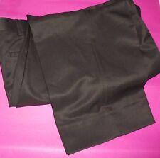 ROUNDTREE & YORKE EASY CARE  MEN'S FLAT-FRONT DRESS PANTS- NWT-BIG 46 W X 26 L