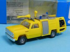 3 Roco H0 Dodge Löschfahrzeug gelb Stk