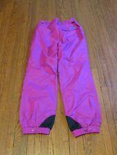 Girls' VTG 90's Columbia Snow Ski Pink Teal Windbreaker Pants Youth sz XL