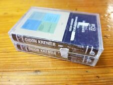 Gidon Kremer Edition Lockenhaus Cassettes Volumes 1 & 2 SEALED NEW