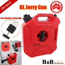 HD 5L Liter Jerry Can Fuel Petrol Container Holder Motor Bike Off Road  C0126