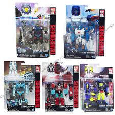 Transformers Generations Titans Return Wave 4 Deluxe Quake Krok Topspin Kup UK