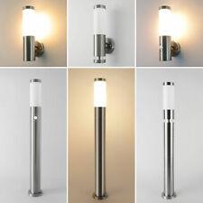 Außenleuchte Bewegungsmelder Außenwandlampe Standlampe Außenlampe E27 232 Lampe