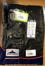 """Portwest Combat Trousers C701 Black 32"""" regular leg length Work wear office wear"""