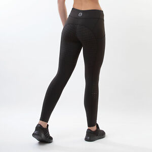 Equetech Revolution Riding Tights - Full Seat - Compression Fabric - Laser Mesh