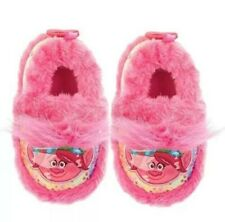 Dreamworks Trolls Poppy Slippers Various Toddler Girl Sizes NWT