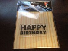 "Imaginisce ""Happy Birthday"" Clear Stamp! Hello Cupcake"