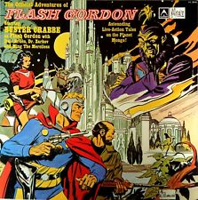 The Official Adventures Of Flash Gordon LP-Summit Australia-Buster Crabbe-FL2018
