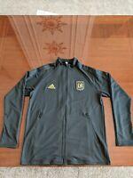NWT 2020 Adidas Men's LAFC Anthem Jacket Black/Gold MLS Size Medium