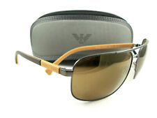 Emporio Armani Sunglasses EA2084 Gunmetal Brown 3003/6H Authentic New