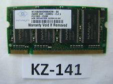 Nanya NT256D64SH8BAGM-6K 256Mb Pc2700 (DDR-333) DDR SDRAM SO DIMM 200-pin