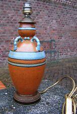 Louis Lourioux - joli vase monté en lampe (d'origine)