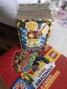 🔥Sainsburys lego 2020 create the world living amazingly full Set Of 140x Cards*