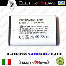 Batteria compatibile Lithium-ion 3.7 V Samsung L760  - 650 mAh