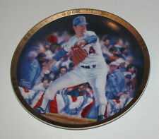 "Nolan Ryan Still Going Strong 1993 Sports Impressions 8 1/2"" Plate"