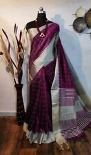 Designer Sari Raw silk Bollywood Sari Women's Special Wear Indian Wear I 18-5