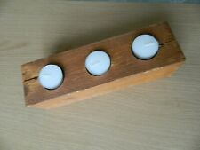 Handmade upcycled pallet wood Tea Light Holder