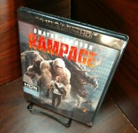 Rampage (4K UHD Disc) Brand NEW (Sealed) - Free Shipping with Tracking